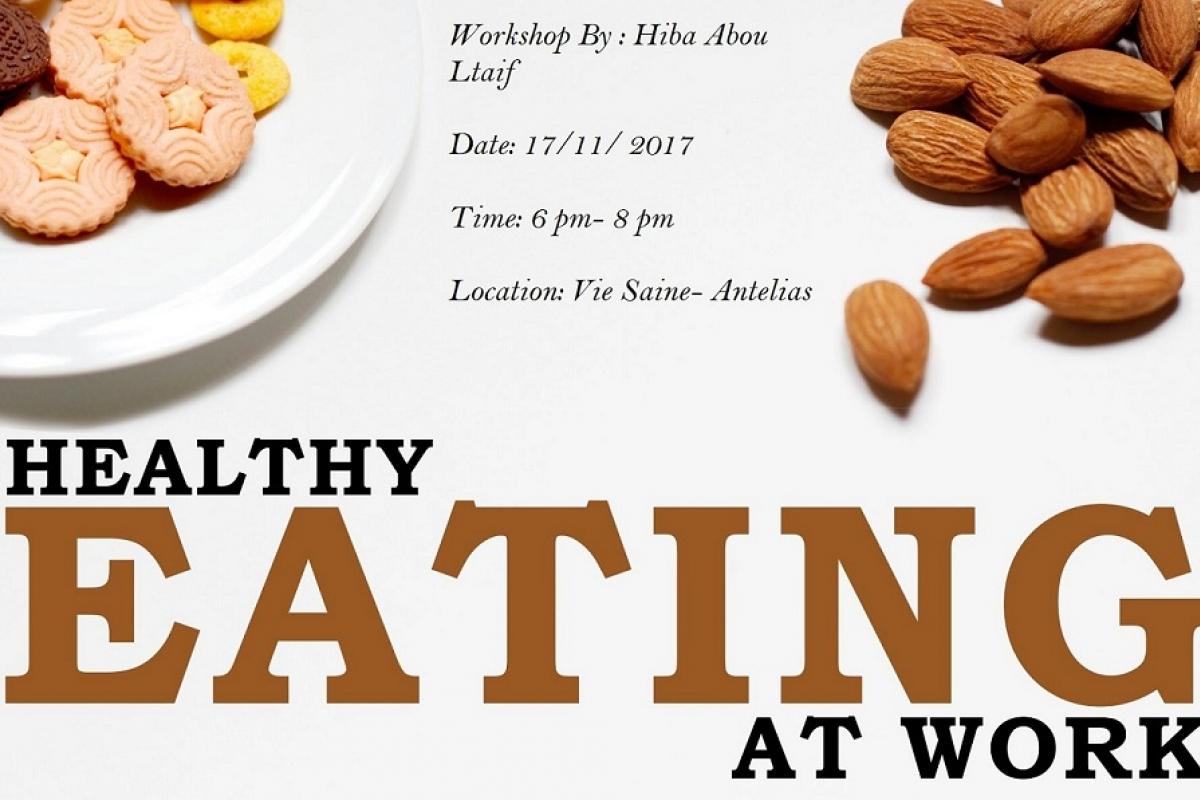 Healthy eating at work workshop