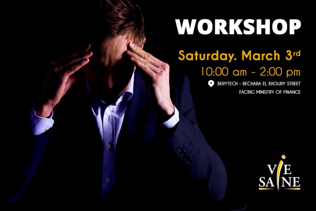 Stress Management Workshop by Dr. Zeina Ghossoub El-Aswad